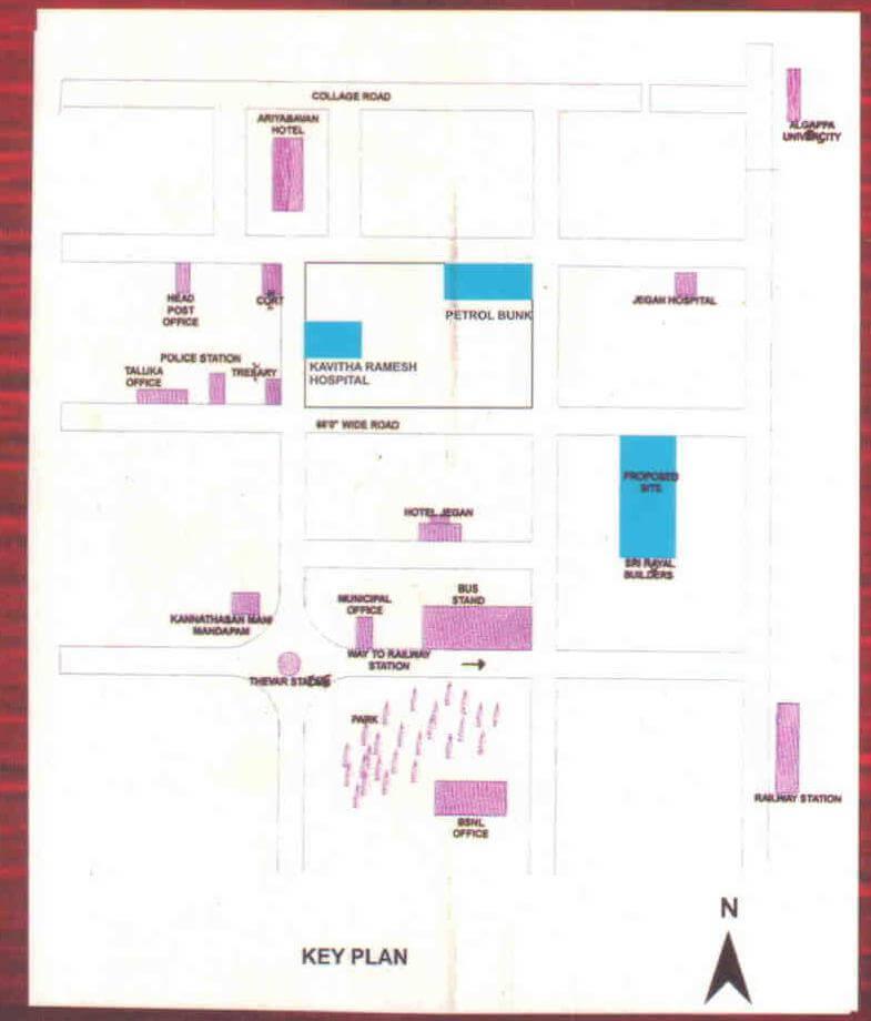 Apartment of Alagappa Enclave\'s Plans from karaikudi properties ...