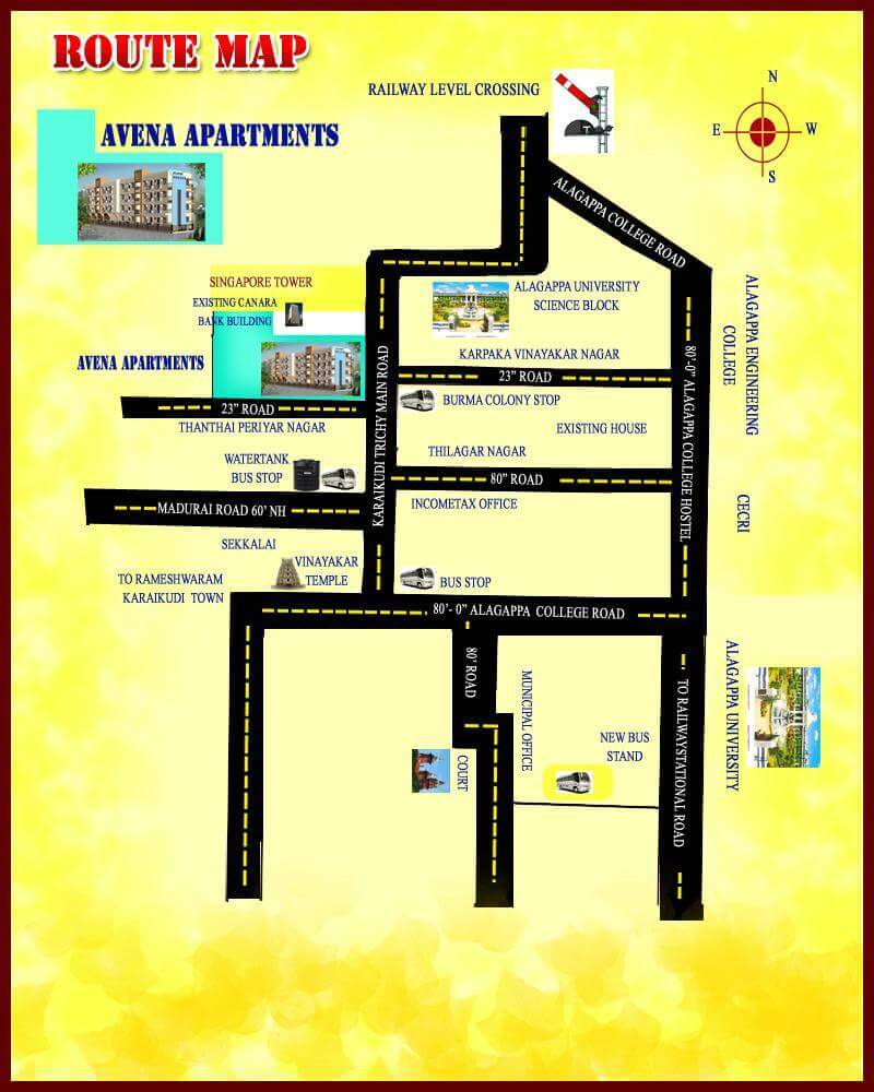 Avena Apartment Plan from karaikudi properties | Karaikudi ...